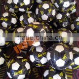 best promotional pvc size 5 soccer ball football / professional pu soccer ball / cheap leather