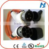 32Amp single phase Type1 to Type2 EV Charging Cable For Electric Vehicle