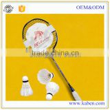 Hot sale high tension high grade custom carbon fiber victor badminton racquets with reasonable price