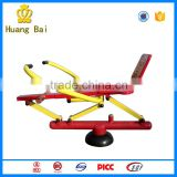 Factory offer fitness equipment outdoor rowing machine for playground
