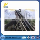 China supplier professional huge capacity simple structure belt conveyor transporter for coal