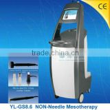 (YL-GS8.6) No Needle electroporation Mesotherapy CE approved personal Home Health Care Device
