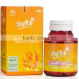 2015 Effervescent Tablet Manufacturer of Collagen Swollowing Pills Skin Tightening Pills