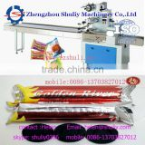 automatic protein bars packaging machine with date printer energy bar packaging machine