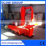 very popular diesel engine biomass pellet producing machine with crusher with diesel motor togther