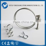 large hose clamps different types supply double wire waved pipe clips
