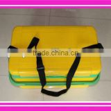 2014 new design fishing tackle box with cooler box function