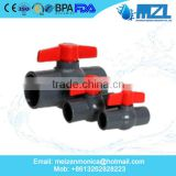 "1/2"" inch inch hot selling cheapest price PVC ball valve, upvc ball valve, pvc pipe fittings China factory"