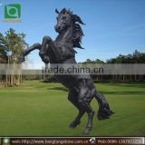 Outdoor modern bronze horse sculpture for sale