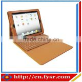 leather tablet cover with silicone bluetooth keyboard