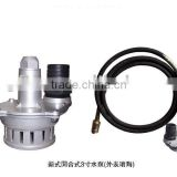 submersible pump,flexible shaft pump(CCC)