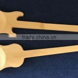 Wholesale Bamboo guitar shaped spoon/chinese factory price