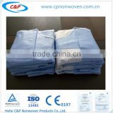 Hospital Gowns from Dressings and Care For Materials/Non Woven Surgical Gown/green surgical gown