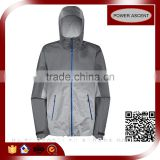 New Style Men's Polyester / Nylon Outdoor Jogger Jacket And Motorcycle Jacket With Hood