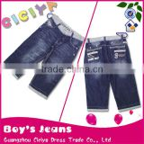 2013 fashion jeans pants for boys, hot bermuda denim boy jeans jeans in jeans, lovely cropped trousers boys jeans