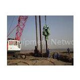 Civil Engineering Bridge Construction , DZJ-120 Pile Driving Hammer and DZJ-480 for Jiashao Sea-cros