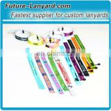 Beautiful plastic snap closure festival fabric wristbands
