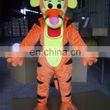 2016 pink nose Tigger Adult Mascot Costume For Fancy dress