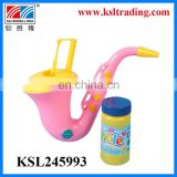 pleasant goat pink saxophone bubble toy gun