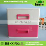 2 tier office plastic storage box drawer