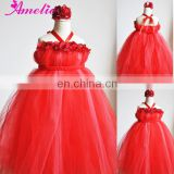 Red Christmas Tutu Dress For Girls