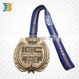 custom copper military international grappling game medal