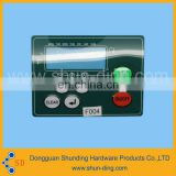 Customized pvc anti-heat shrink film switch