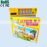 Customized Hardcover Children Sound Book & Reading Pen,Kids Touch English Talking Book