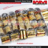 Mukaish Metal Strips