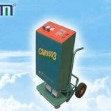 Trolley type refrigerant recovery/vacuum/recharge machine