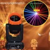Rainbow effect 10R Sharpy 260W moving head beam light with double prisms 6 glass gobos for stage dj lighting wedding disco event