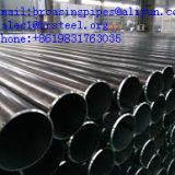 3pe coated steel pipe tube erw welded black carbon steel pipe price per ton,erw technique powder painting surface treatment fire fighting system sprinkler steel pipe