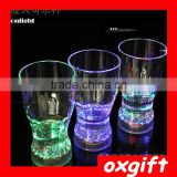 Oxgift Creative emitting large Coke cup / wine bar dedicated Remanbar colorful color sensor LED Cup