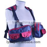 fly fishing chestpack with big pocket for plastic boxes