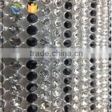 Crystal Mix Black stone shining Mesh for Bags Decoration                                                                         Quality Choice