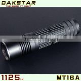 DAKSTAR MT16A XML T6 1125LM LED 26650 Battery High Power Police Flashlight With CREE