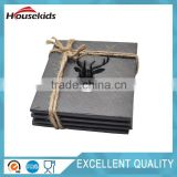 Natural Black slate cheese board sets wholesale