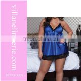 babydoll lingeries sexy blue nighty
