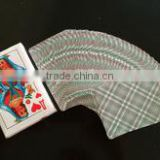 Paper, Plastic,High Quality 280-320gram Poker Stock Material and Advertising Poker Type double deck playing cards
