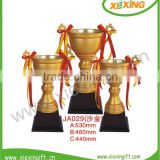 souvenir big world cup soccer trophy for games