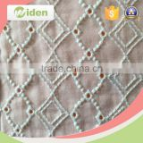 Accessories for garment rhinestone snaps cotton material embroidery lace fabric                                                                                                         Supplier's Choice