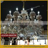 Stunning & Loving Family pendant lamp Crystal Luxury chandelier with zinc alloy ZD033