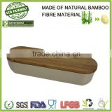natural materials bamboo fiber storage box,bamboo fiber bread bin                                                                         Quality Choice