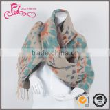 Bulk wholesale types of scarves for women, 100% acrylic new design scarf for winter