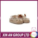 shanghai xin an 2015 Fashion Plush Animal Baby Slipper