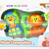 Item No.:AL018821,Musical Instrument Set with light and music,Musical Instrument,B/O toys