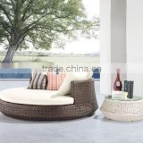 2015 outdoor furniture rattan pool sunbed/sunbed with canopy/outdoor sunbed cushion (DH-9657)                                                                         Quality Choice