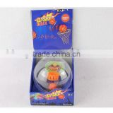 Flash palm mini basketball toy with cheer sound