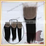 Hot sale 100% Virgin Human Hair Malaysia 4*4 STW Lace Closure