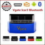 2016 Best selling ELM327 Vgate Bluetooth iCar 3 OBDII ELM327 iCar3 Bluetooth Vgate OBD2 Diagnostic Interface with factory price